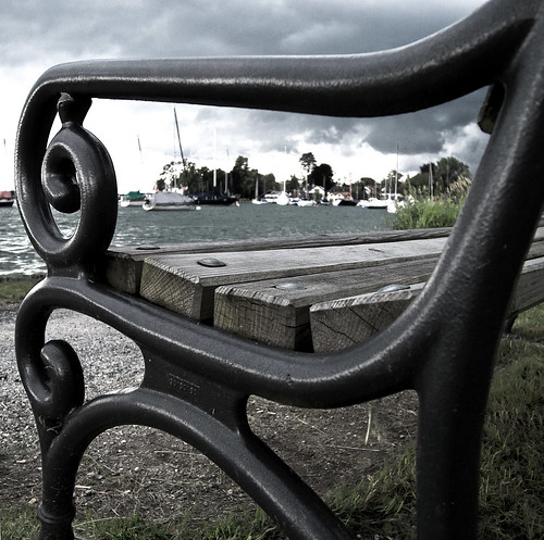 Bench And Storm 269/365 | by Lens felicis