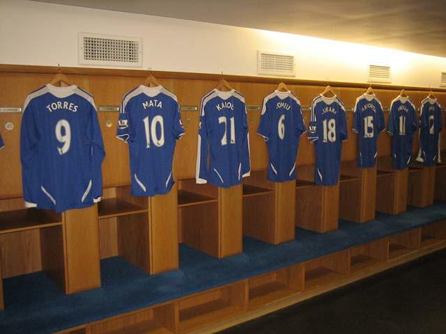 Chelsea Locker Room Pranking Antonio Conte