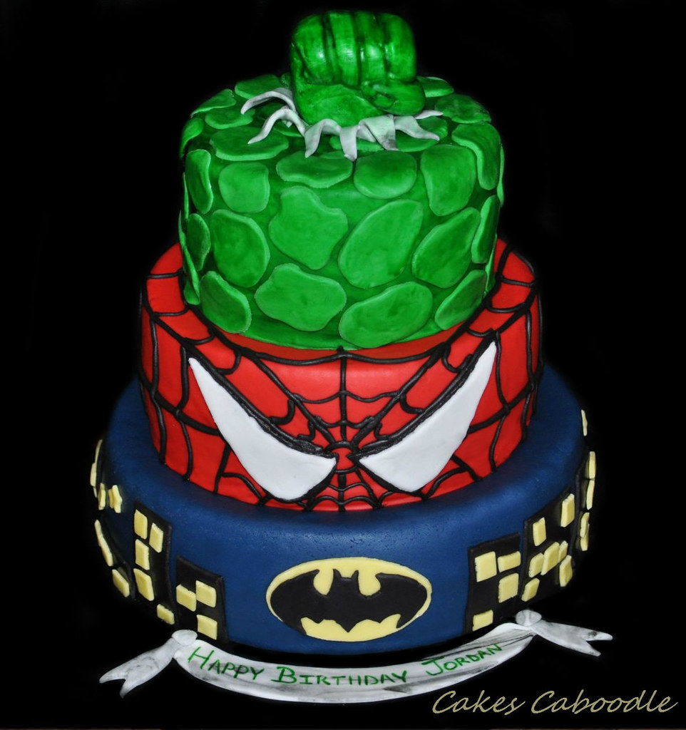 Marvel Heroes Cake Designs