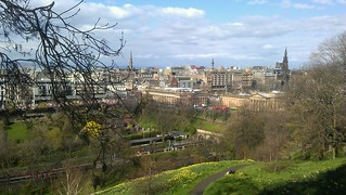 87: Sunny Edinburgh from Princess Gardens | by derickrethans