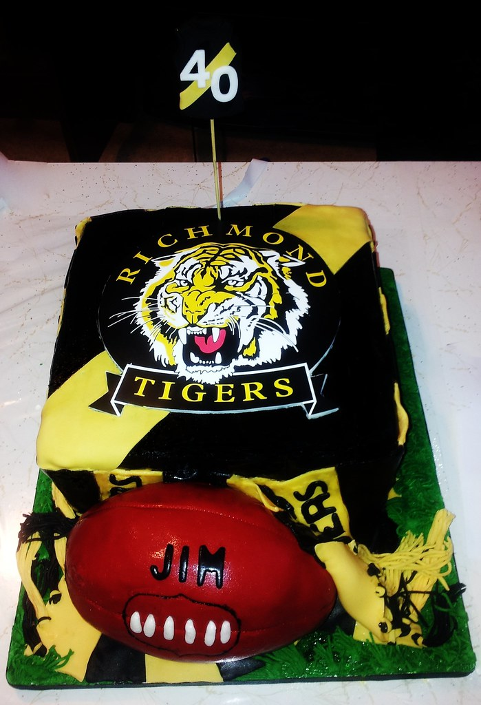 Richmond Tigers Birthday Cake