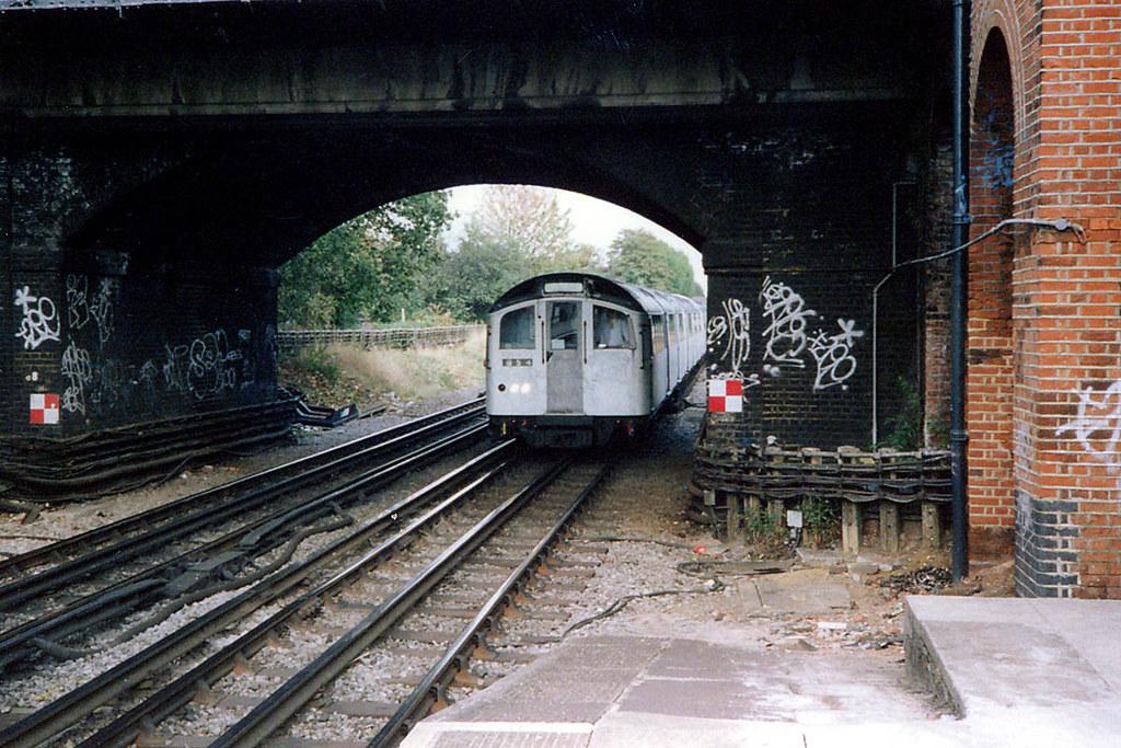 London Underground Central Line 1962