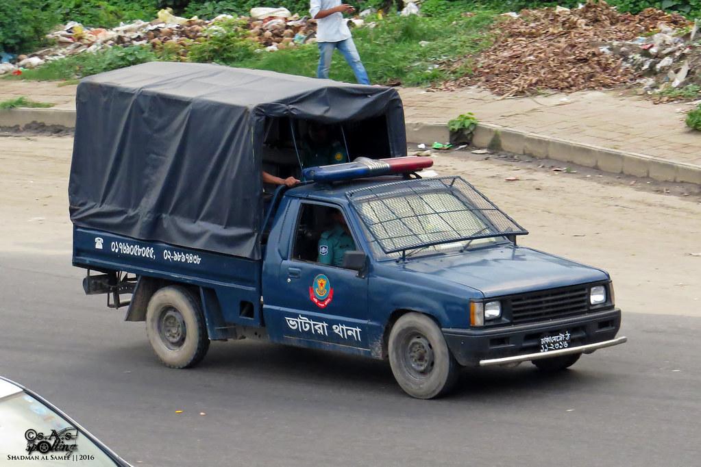 Bangladesh Police Dmp 2nd Gen Mitsubishi L200 Car