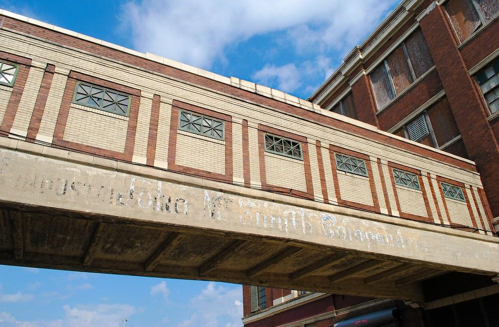 Walkway Between Former National Biscuit Co Buildings Flickr