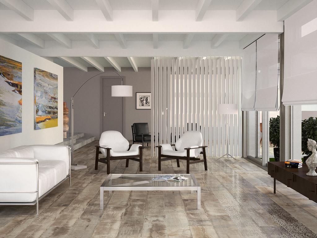 Porcelanite dos 1303 ceniza ash coulored wooden floor - Suelos imitacion parquet ...
