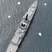 Royal Navy Type 23 Frigate HMS Montrose Navigates the Ice Pack in the South Atlantic