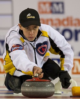 Napanee, ON Feb 12 2011 M&M Canadian Juniors MB Skip Kyle Doering. Michael Burns Photo Ltd. | by seasonofchampions