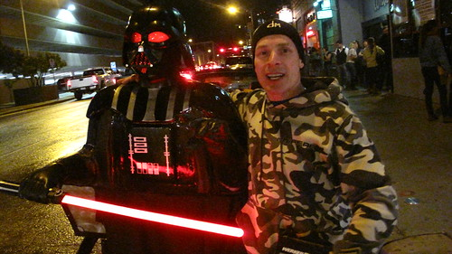 Lee Nash and his Darth Vader pedicab. | by joemurphy