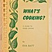My first vegan cookery book
