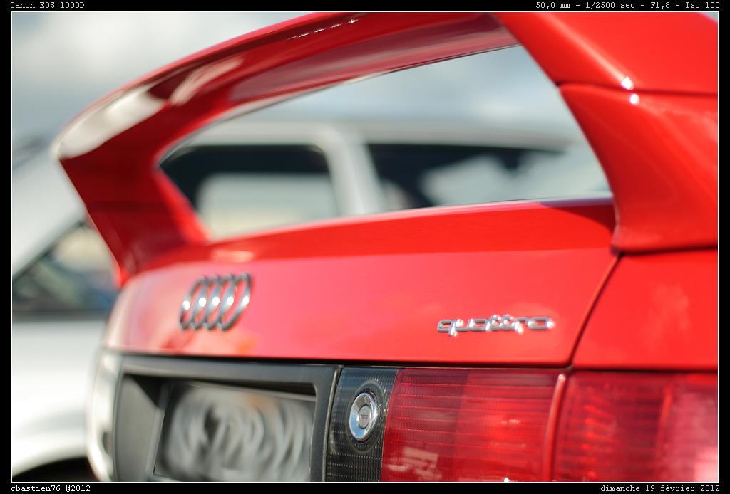 Audi 80 Quot Quattro Comp 233 Tition Quot Et Sa R 233 Hausse D Aileron