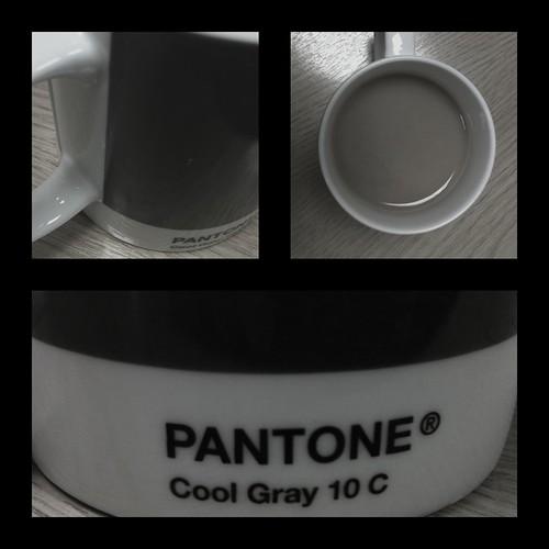 Pantone Grays Pantone Cool Gray 10c Mug