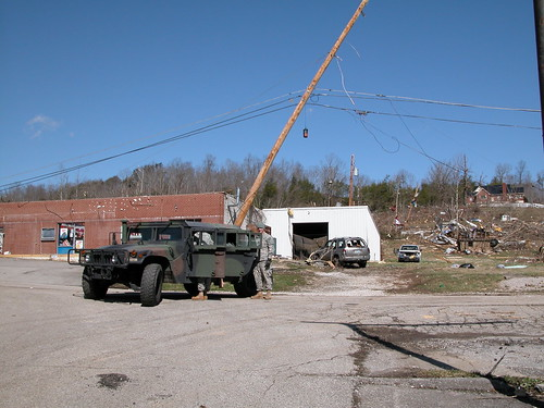 Kentucky Tornado Support Mission | by The National Guard