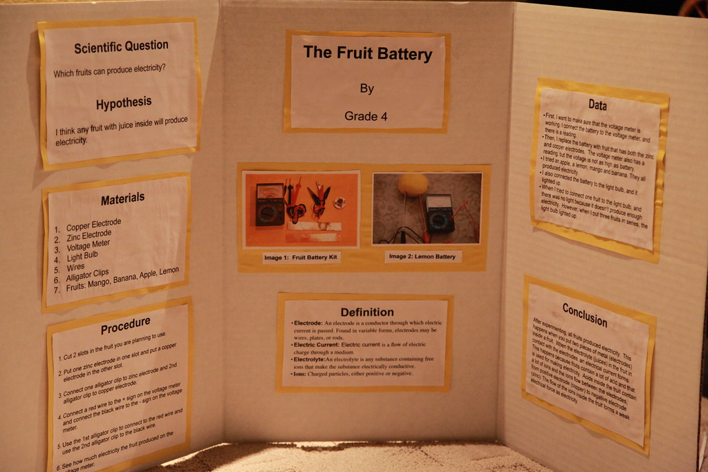 study about fruit battery Can vegetables conduct electricity if your ipod runs out of battery power a fun project you can do is try using different vegetables and fruit in an.