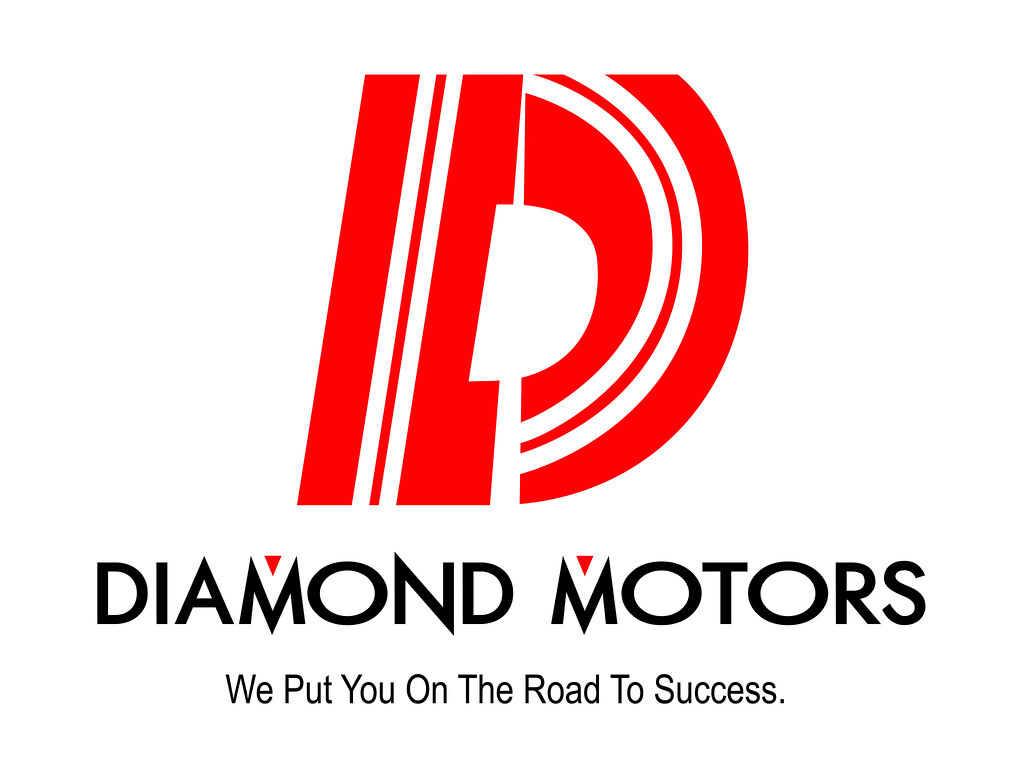 Diamond Motors Logo The Abstract Shapes Form A D And