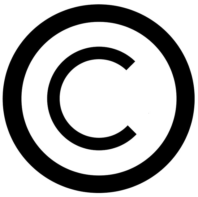 copyright symbol white background this is a copyright