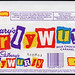 UK - Cadbury's - CurlyWurly - Curly Wurly - chocolate candy bar wrapper - 1989