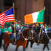 St. Patrick's Day Parade - American & Irish Flags