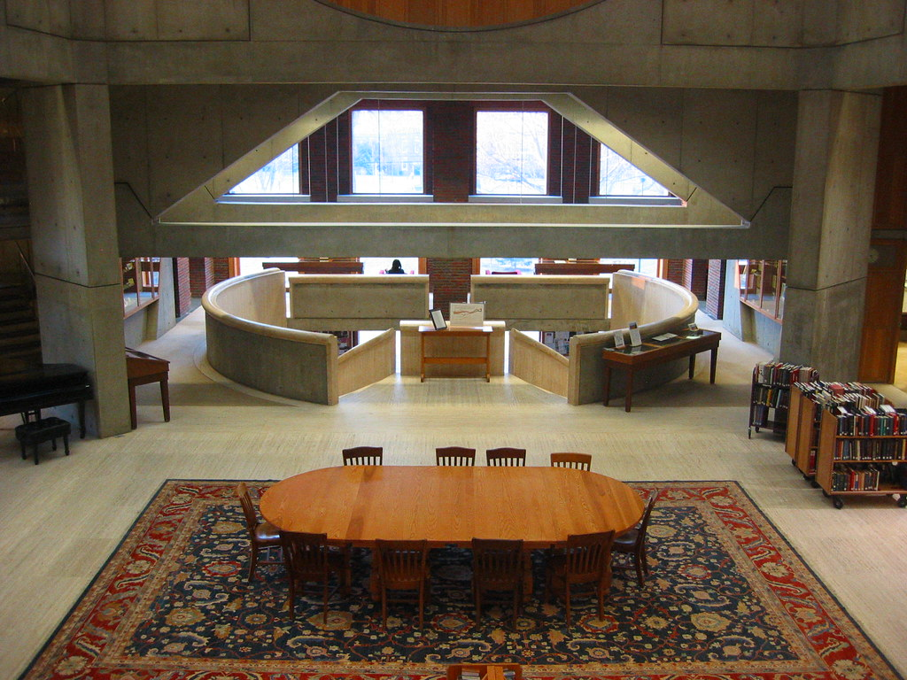 Louis Kahn S Library At Phillips Exeter Academy Michael