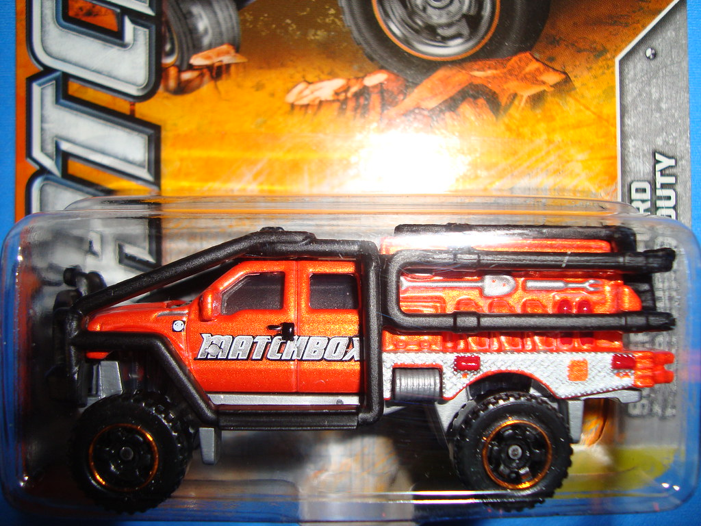 Ford Super Duty >> Ford F350 Super Duty SuperLift (Matchbox 2012 052 W4885-08 ...