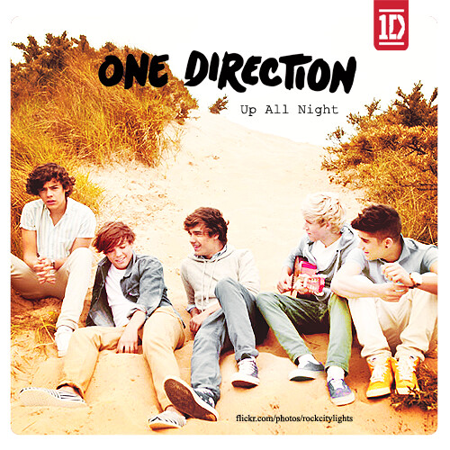 """One Direction Rock Me Album Cover """"If we could only..."""