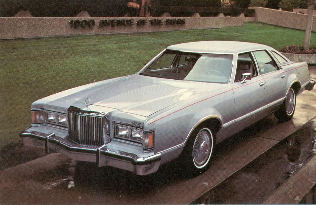1978 Mercury Cougar Brougham 4 Door Pillared Hardtop  Flickr