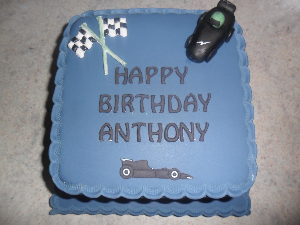 Happy Birthday Model Car Birthday Cake Elizabeth Flickr
