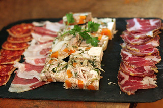 basque charcuterie plate | by David Lebovitz