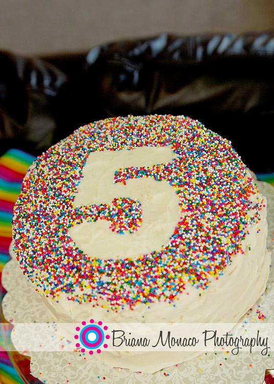 Как украсить детские торт