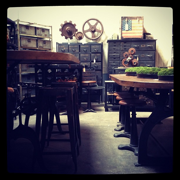 Industrial chic New shipment in! Paris on Ponce & Le Maison Rouge ...