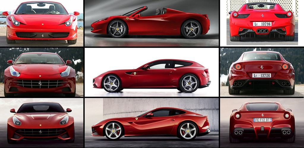 Ferrari 580 Ferrari Ff Ferrari F12 Which Is Your