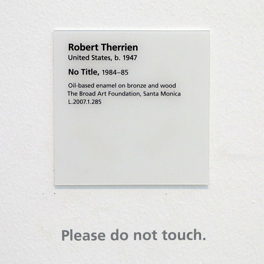 exhibit label template - the fragility of the art label lacma outtacontext flickr