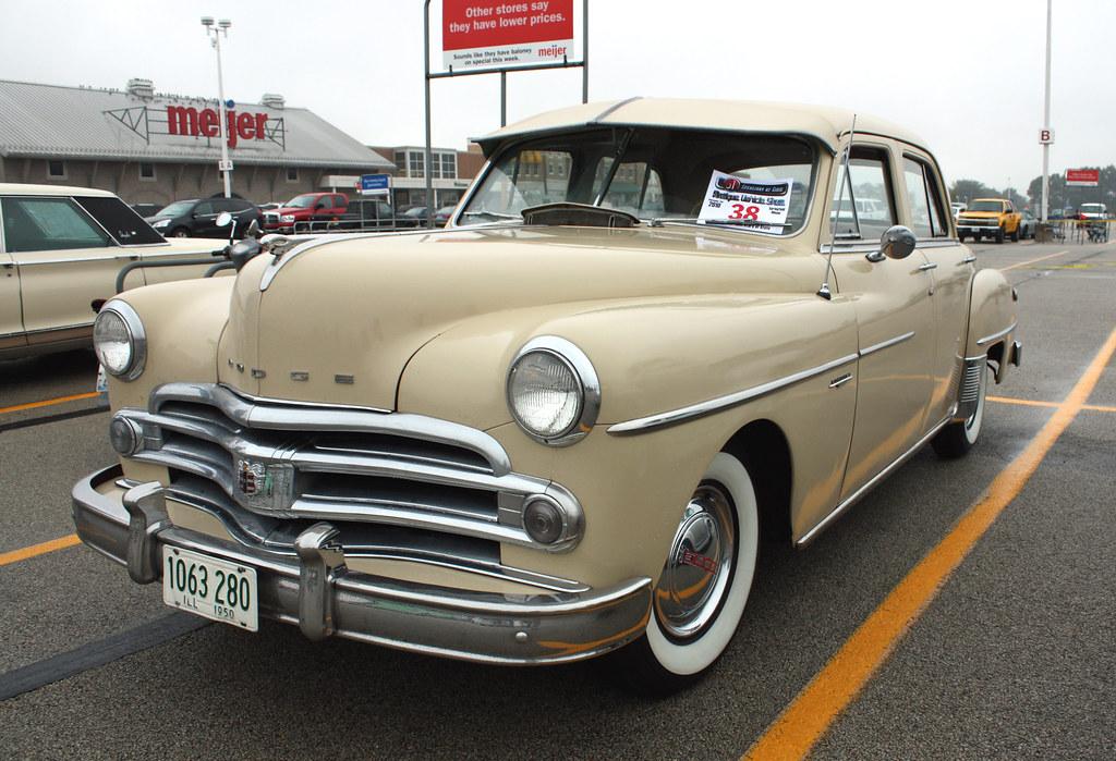1950 dodge coronet 4 door sedan 1 of 2 photographed at for 1950 dodge 2 door coupe