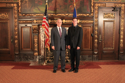Governor Dayton with Austin Students | by Office of Governor Mark Dayton & Lt. Governor Tina