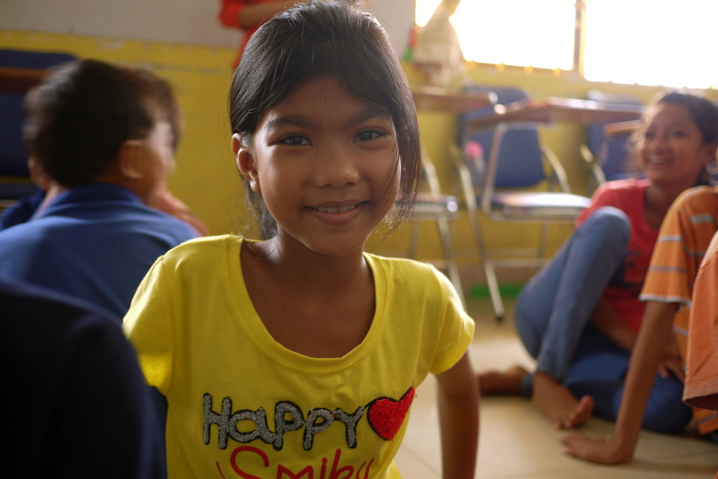 12 year old cambodia girl in ccf 6 classroom placestosee flickr