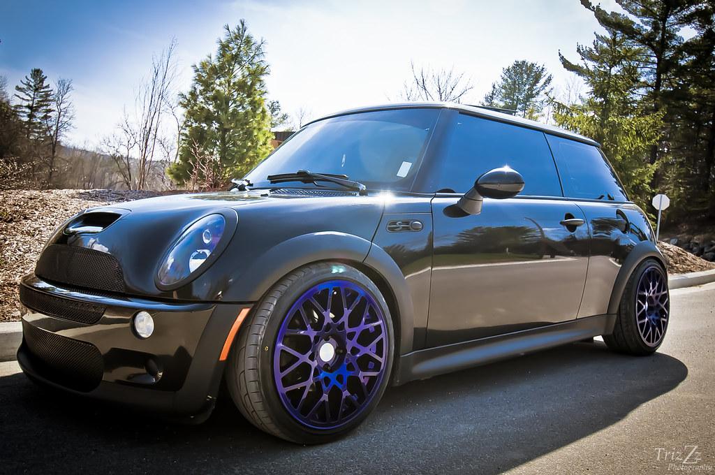 New Mini Cooper >> Dark Candy Purple Mini Cooper Rotiform | Mini Cooper S 2005 … | Flickr