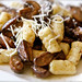 Gnocchi with Brown Butter Mushroom Sauce