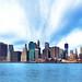 Manhattan's Financial District Skyline