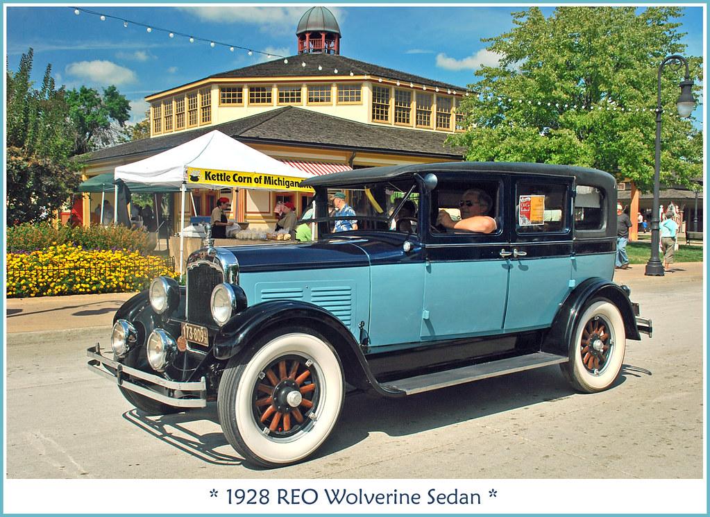 1928 Reo Wolverine Sedan The September 11 2011 Old Car Fe Flickr