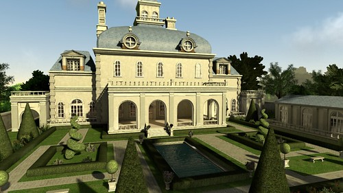 PS Home: Personal Spaces - French Chateau | by PlayStation.Blog