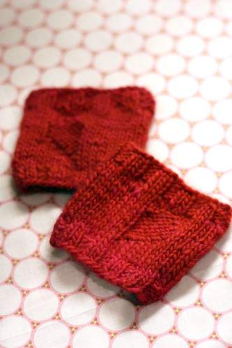 Sweetheart Cozies | by tentenknits