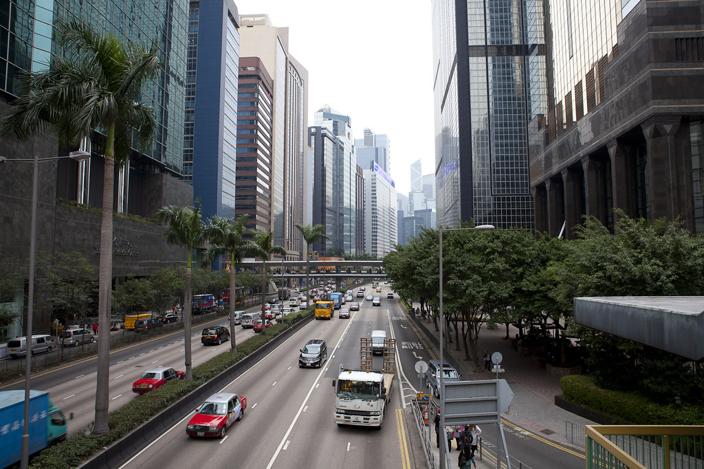 Road Conditions Vancouver: Wan Chai, Hong Kong