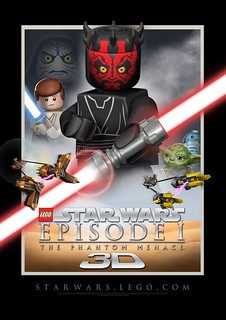 LEGO Episode I in 3-D! | by fbtb