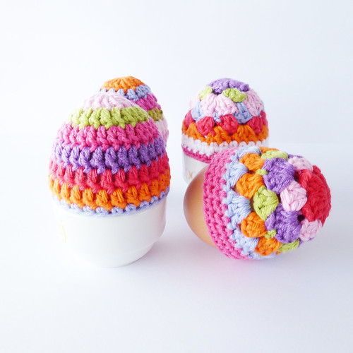 Easter Egg Cozies | by Annemarie's Haakblog