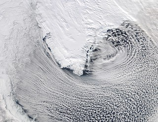 Cloud streets Around Southern Greenland | by NASA Goddard Photo and Video