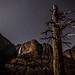 Yosemite Fall by moonlight