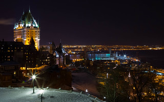 Chateau Frontenac and Quebec City at night | by Boris HD