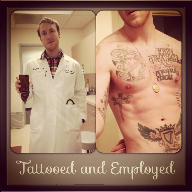 Think twice before you judge flickr photo sharing for Tattoos in the workplace discrimination