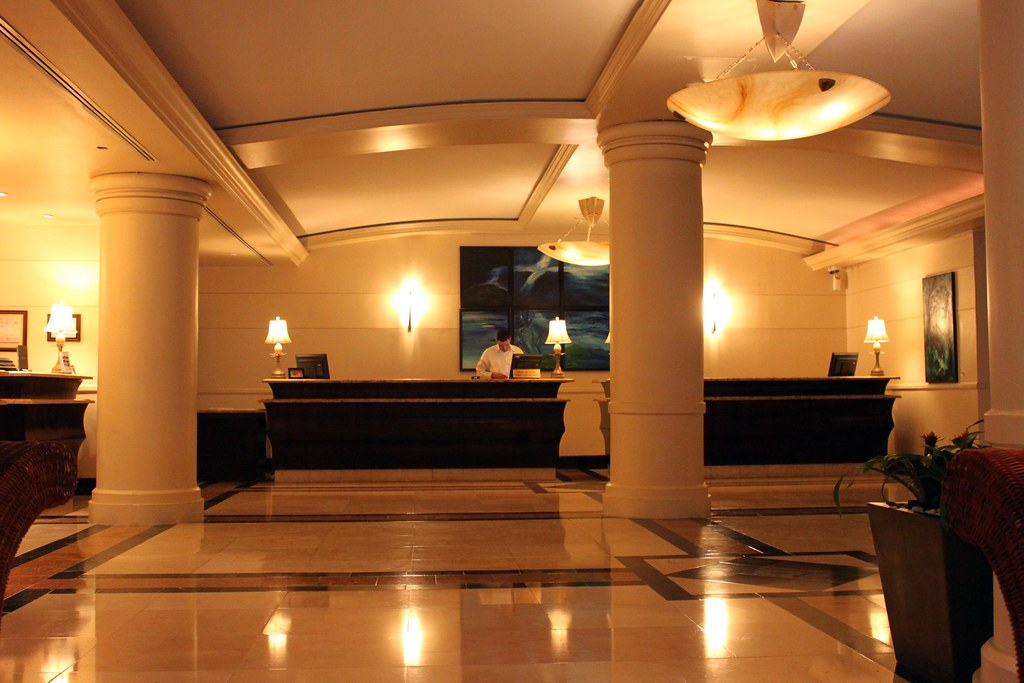 Modern reception furniture, spa front desk hotel front ... |Hotel Front Office Lobby