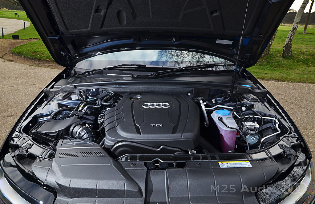 new audi a4 2 0 tdi engine the 2 0 litre tdi engine is ext flickr. Black Bedroom Furniture Sets. Home Design Ideas