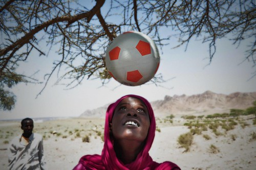 UNHCR News Story: Somali woman forced into exile by her love of the beautiful game | by UNHCR